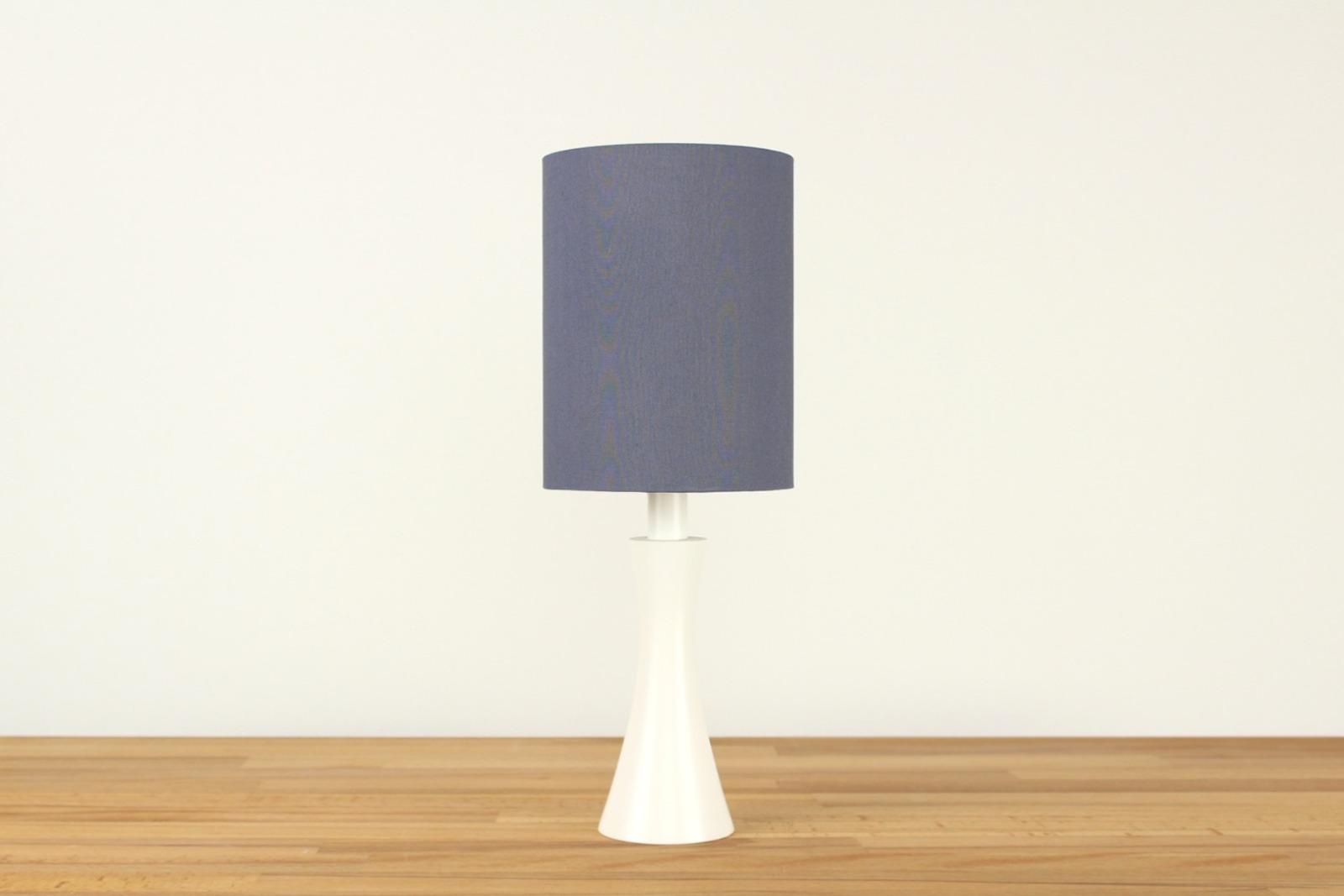 Tischlampe Grau