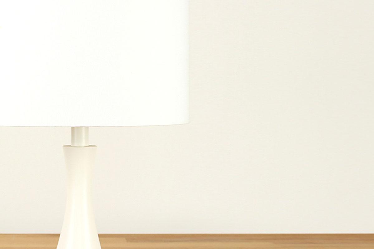 Tischlampe Weiss