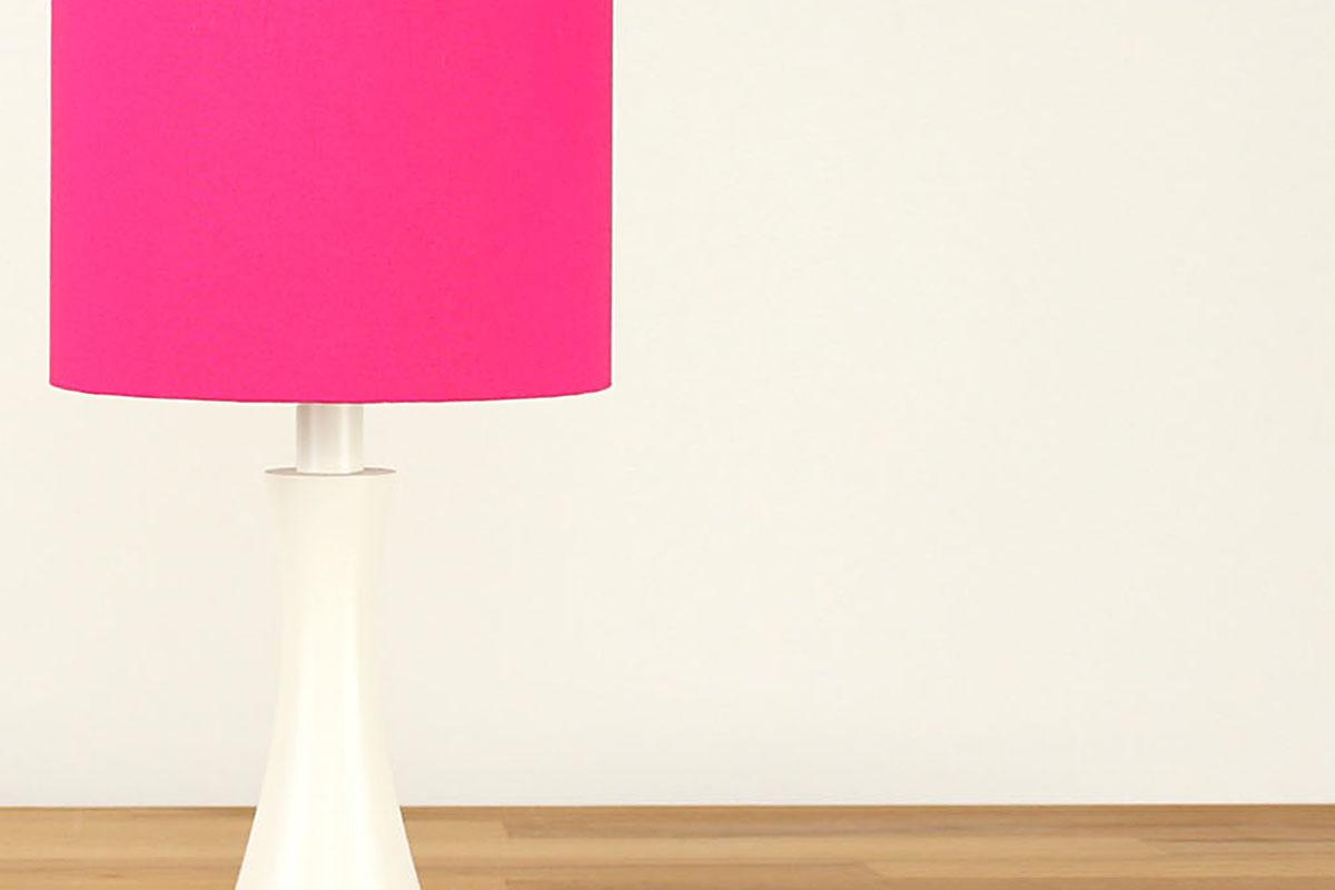 Tischlampe Pink