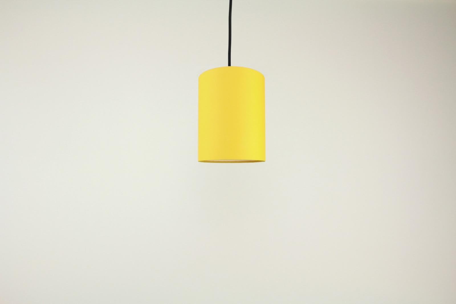 Lampenschirm gelb