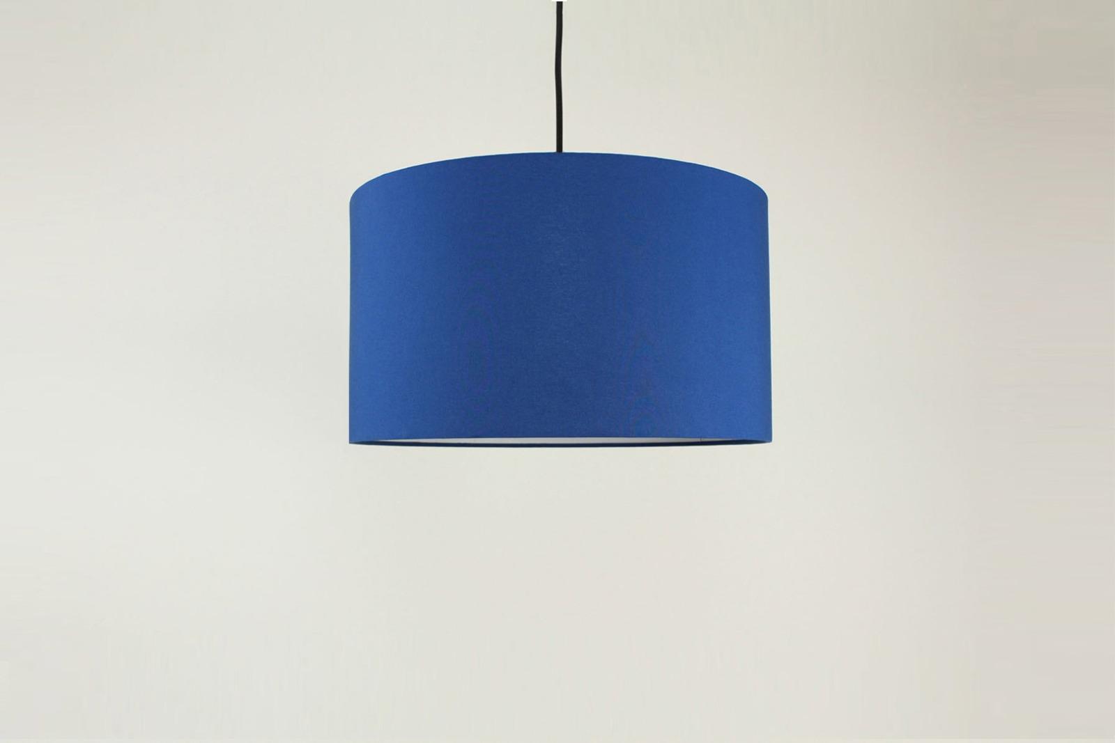 Lampenschirm blau