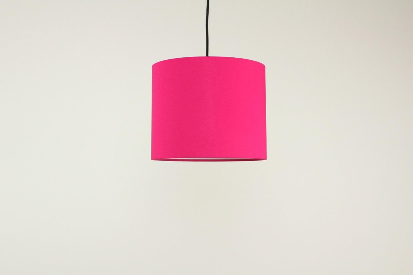 Lampenschirm pink