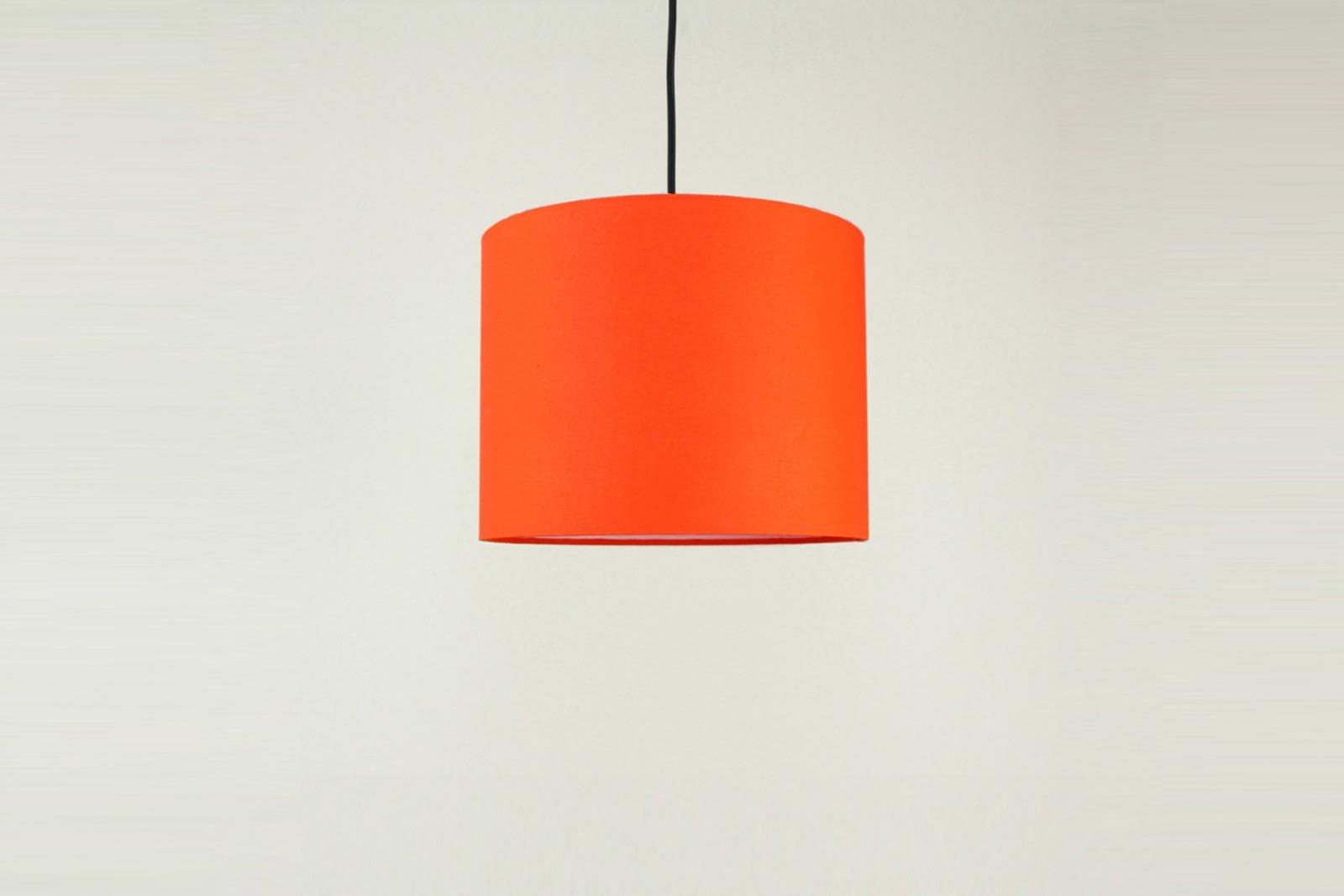 Lampenschirm orange
