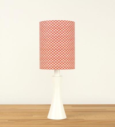 Tischlampe Triangle - Japanpapier / Holz