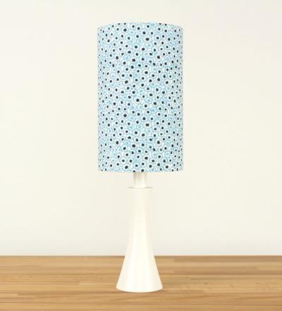 Tischlampe Spotted Blossom - Japanpapier / Holz