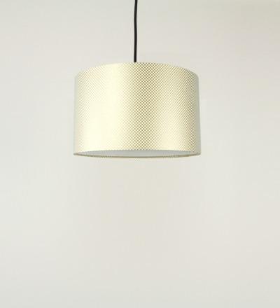 Lampenschirm Goldenes Karo - Japanpapier 30x18cm