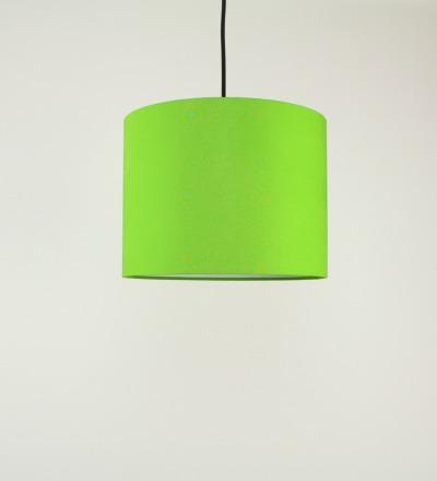 Lampenschirm hellgruen - Textil 30x23cm