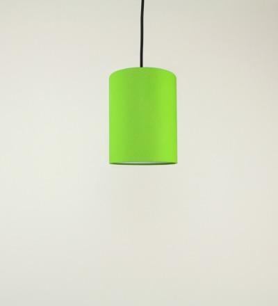 Lampenschirm hellgruen - Textil 15cmx20cm