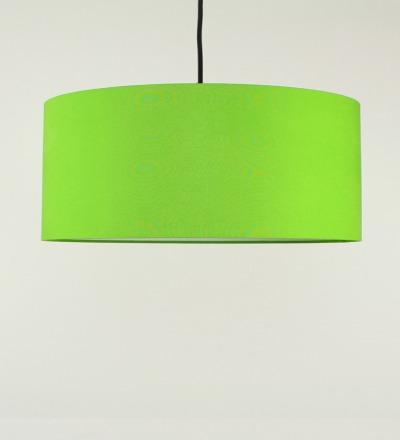 Lampenschirm hellgruen - Textil 50x25cm
