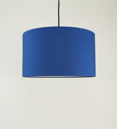 Lampenschirm blau - Textil 40cmx 23cm