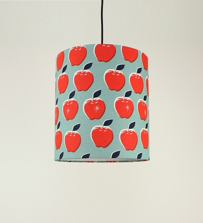 Lampenschirm Apples - Textil 30x32cm