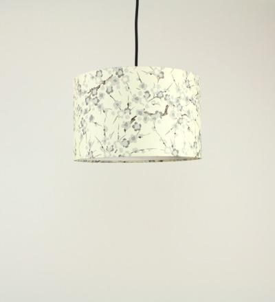 Lampenschirm Creamy Blossom - Japanpapier 30x18cm