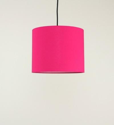 Lampenschirm pink - Textil 30cmx 23cm