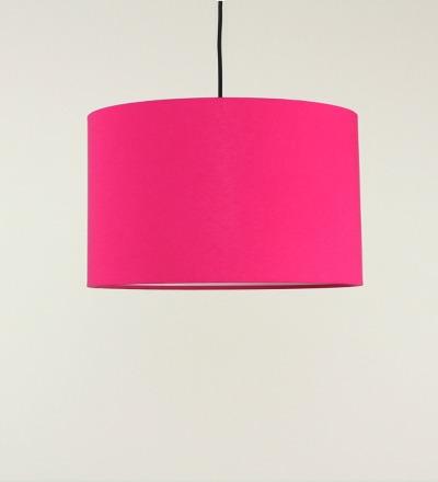 Lampenschirm pink - Textil 40cmx 23cm
