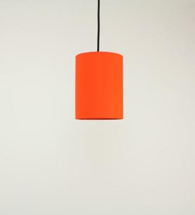 Lampenschirm orange - Textil 15cmx20cm
