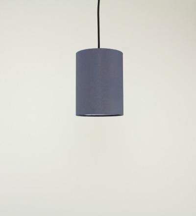 Lampenschirm grau - Textil 15cmx20cm
