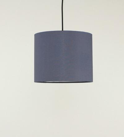 Lampenschirm grau - Textil 30x 23cm