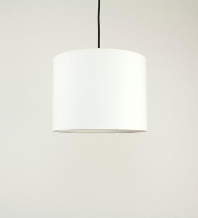 Lampenschirm weiss - Textil 30x 23cm