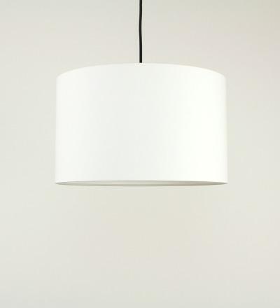 Lampenschirm weiss - Textil 40cmx23cm