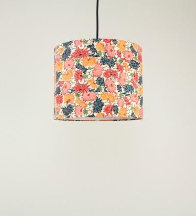 Lampenschirm Chrysanthemen - Japanpapier 29 x 23 cm