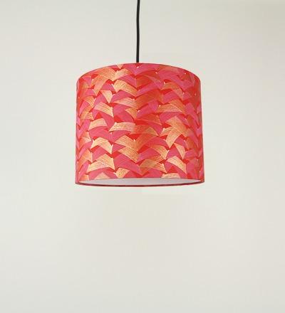 Lampenschirm Kimono 2 - Japanpapier 30 x 23 cm