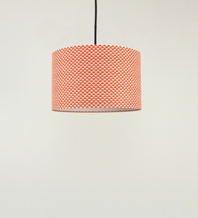 Lampenschirm Triangle - Japanpapier 30x18cm