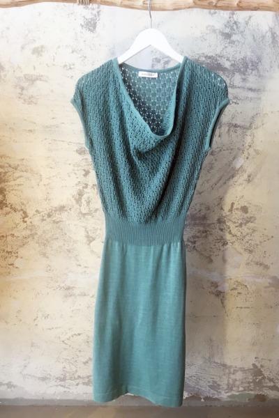 Kleid CALYX Leaves Sommerkleid mit Ajour-Muster