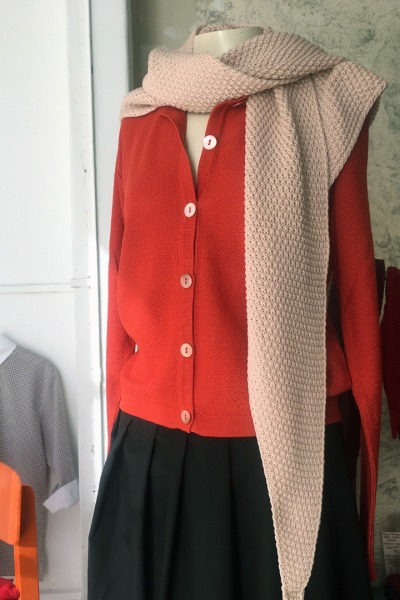 Cardigan ISA Tweed leichter Cardigan in