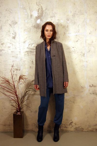 Mantel YOKO - Ganz besonders warmes Gestrick als Mantel oder Cardigan an kalten Tagen einsetzbar.