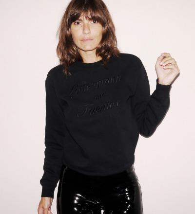 Black Sweater - classic M/L