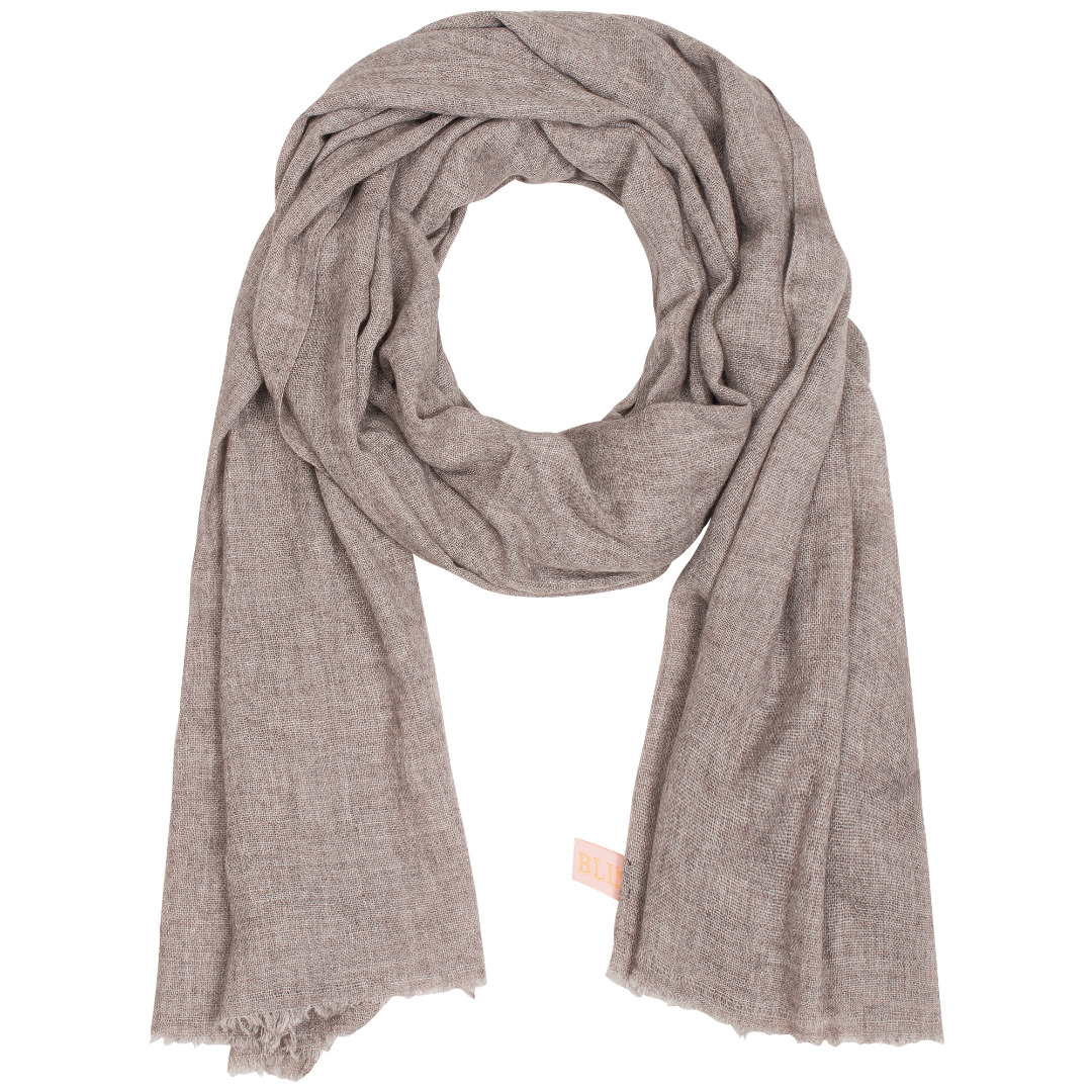 Organic Cashmere Scarf Long