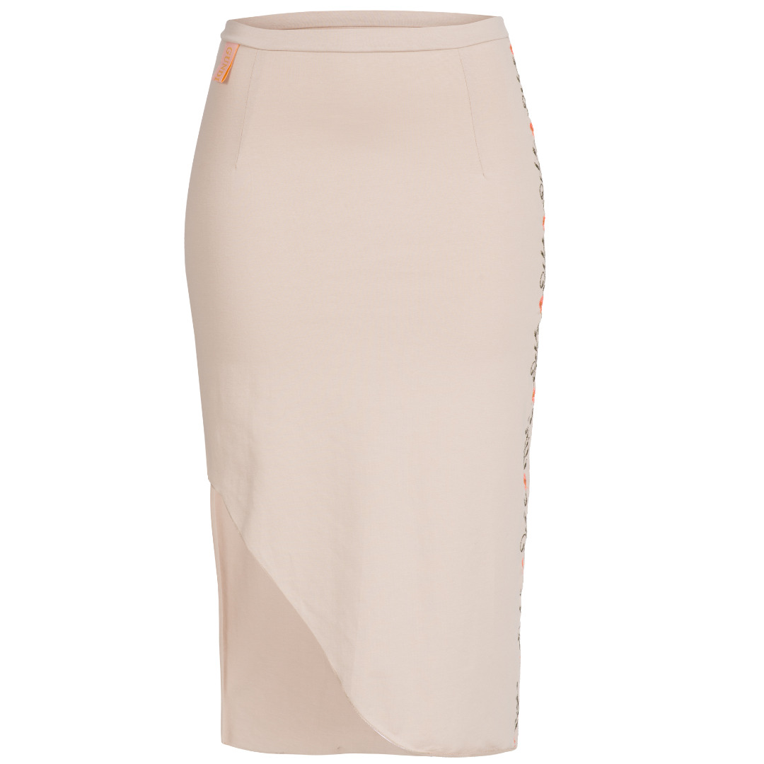 High Rise Skirt - 1