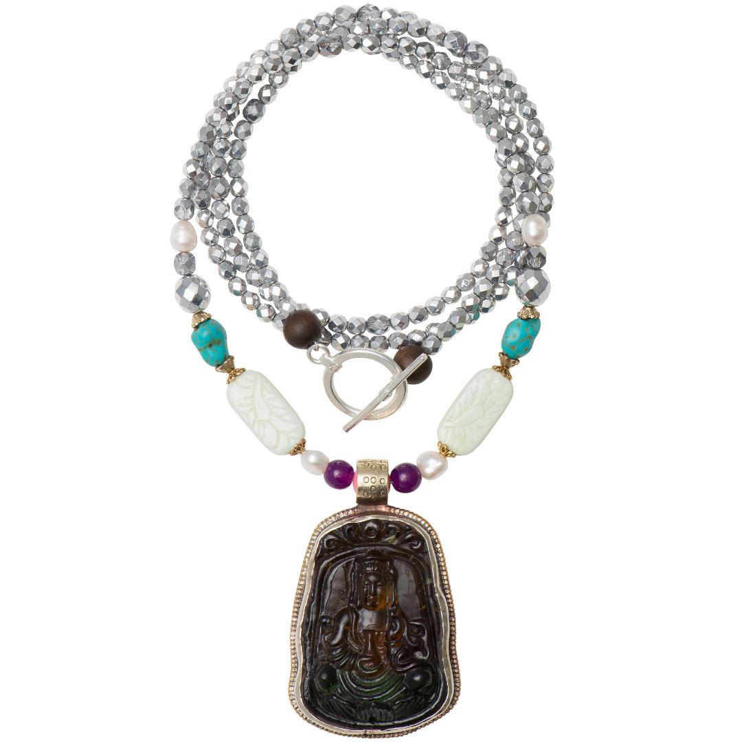 Vintage Buddha Chain