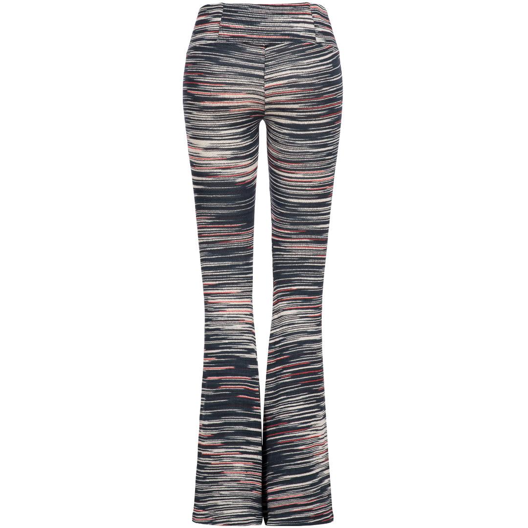 Knit Bootcut Pants 2