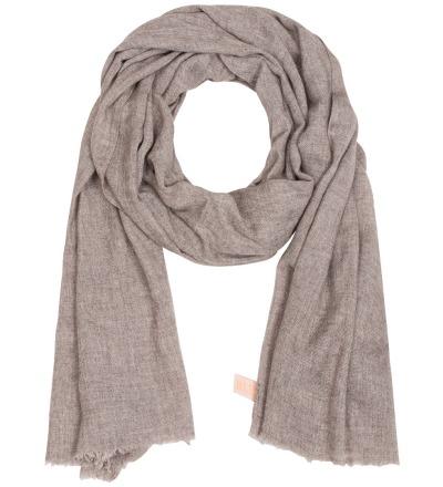Organic Cashmere Scarf Long - Downy soft handloom scarf