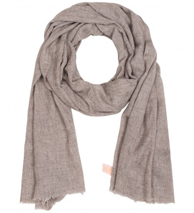 Organic Cashmere Scarf Long Downy soft