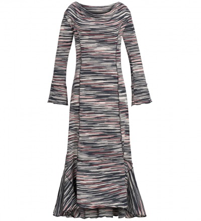 Chandra - Knit - Dress - Maxi - Inspired by the 70 s knit for vintage loving trend makers.