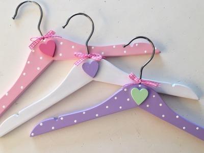 Kinder - Kleiderbügel mit Herz