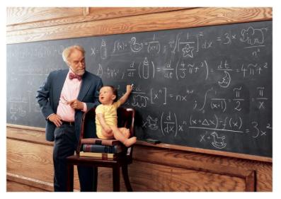 Baby/Blackboard