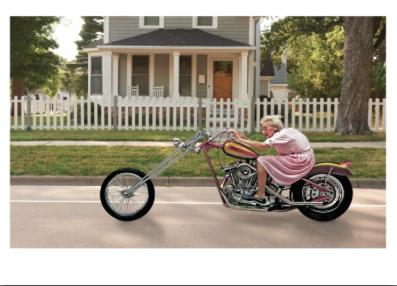 Grandma Motorcycle