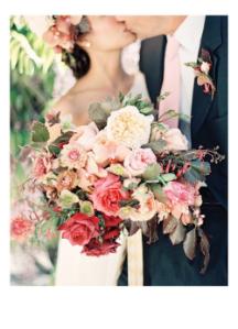 Bride Kiss Roses