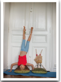 Headstand Doll