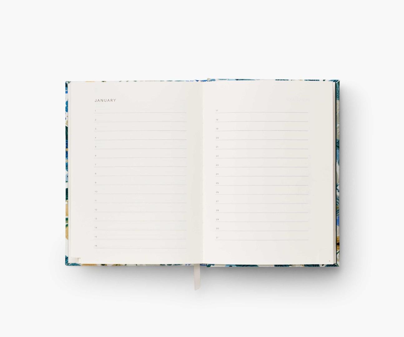 Gerden Party Blue Address Book 4