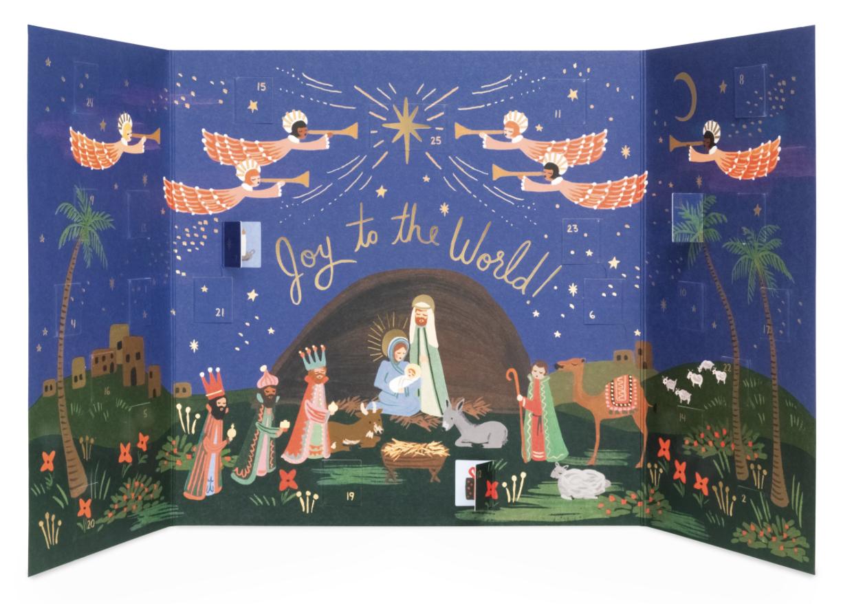 Nativity Advent Calendar 2