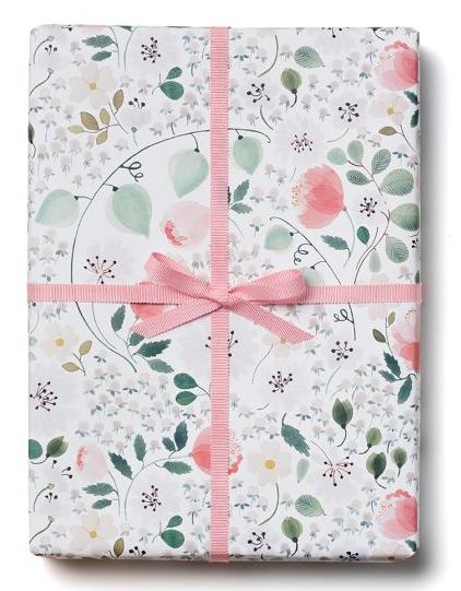 White Calendula Wrap - 1