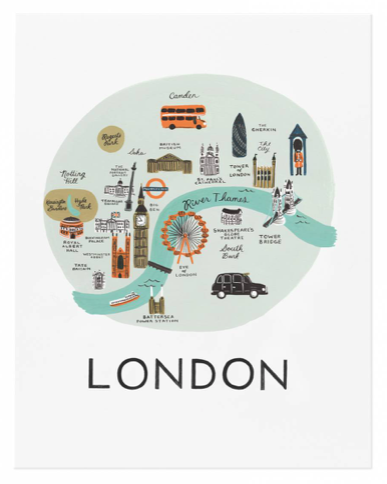 London Art Print - 1