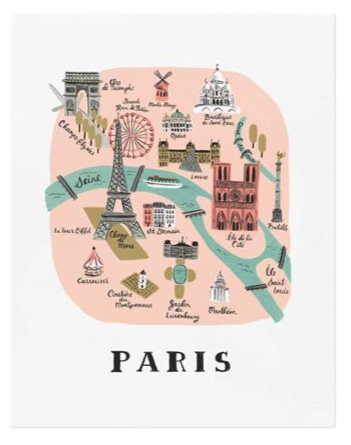 Paris Art Print - 1