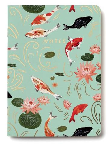 Koi Fish Notebook