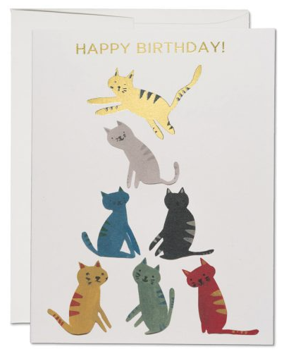 Gold Kitty Card - 1