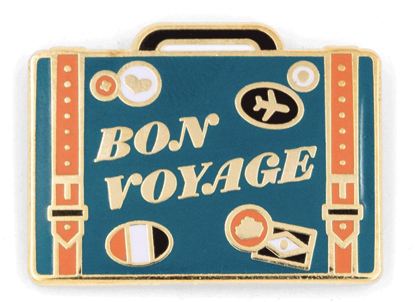 Bon Voyage Pin